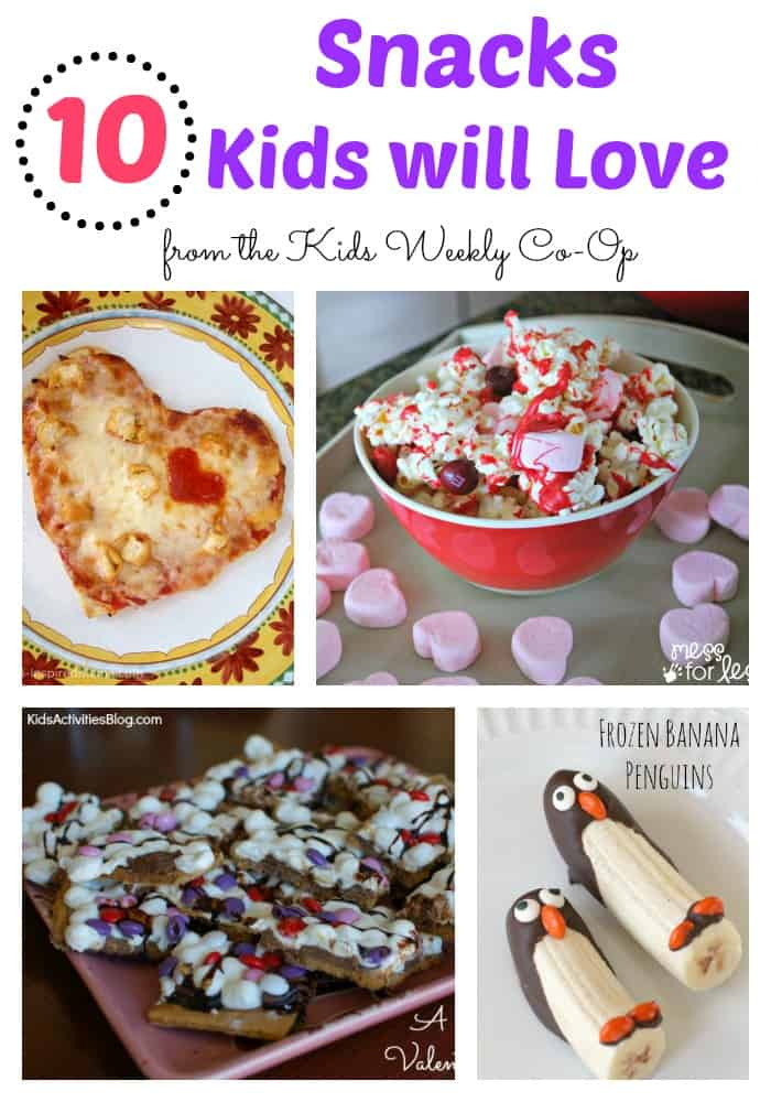 10 Snacks Kids will Love - Have you gotten into a snack rut? Here are some ideas to bring the fun back to snack.