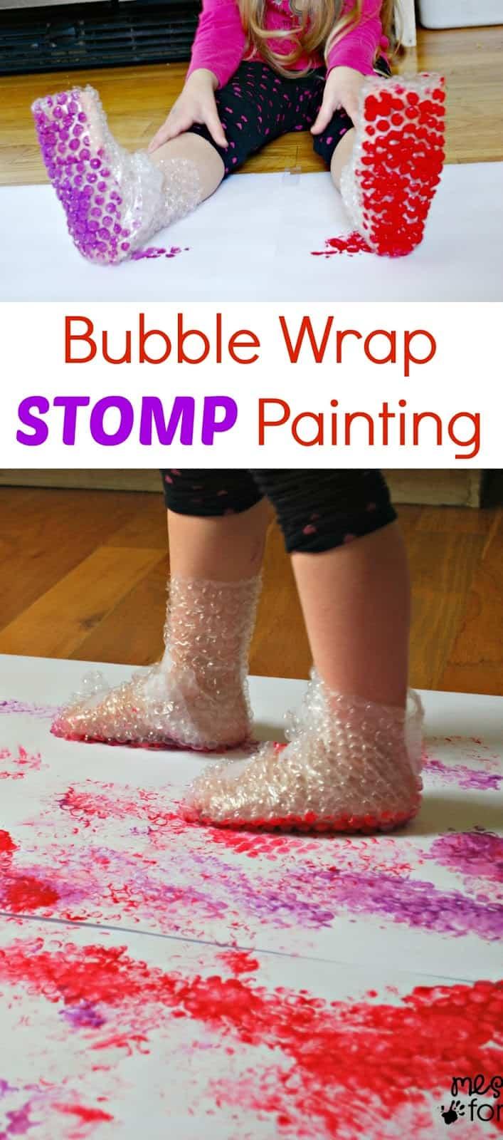 atividades com crianças bolha