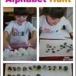 Sensory Alphabet Hunt