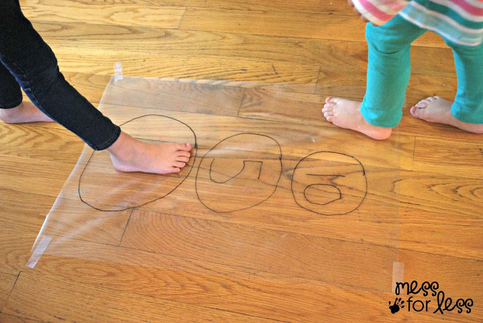 contact paper activity