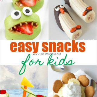 Easy Snacks for Kids