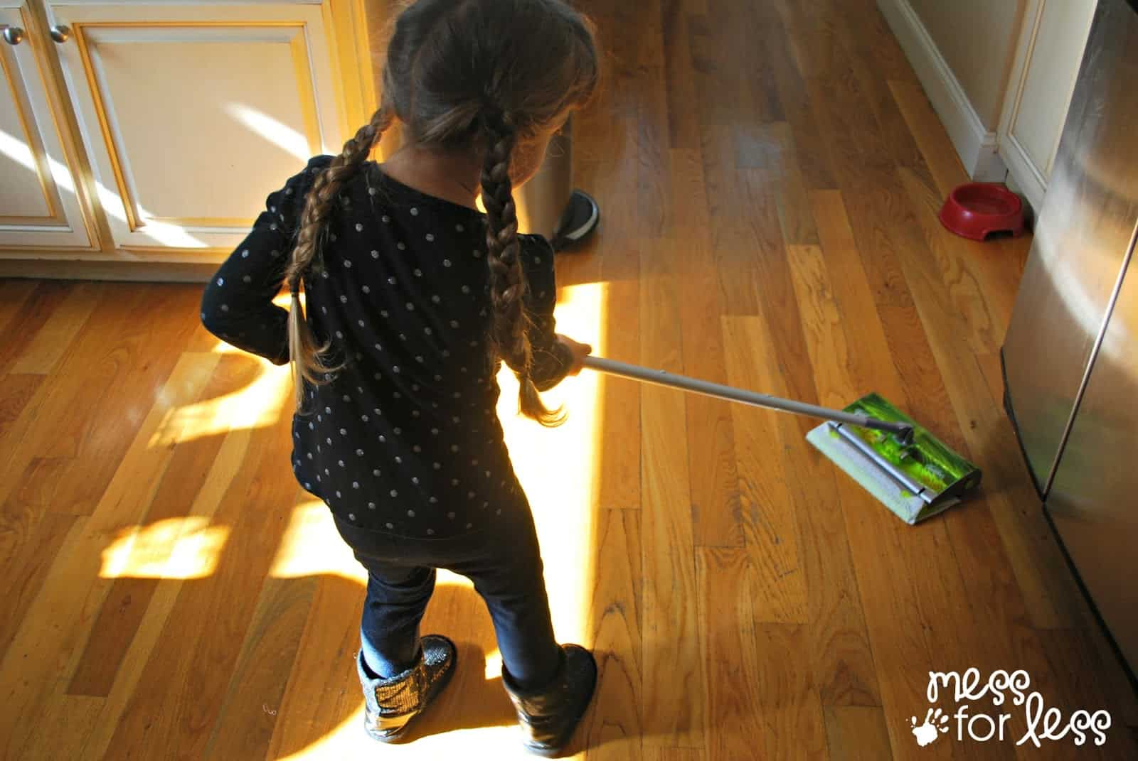 Spend Less Time Cleaning With Swiffer Sweep Amp Trap Mess