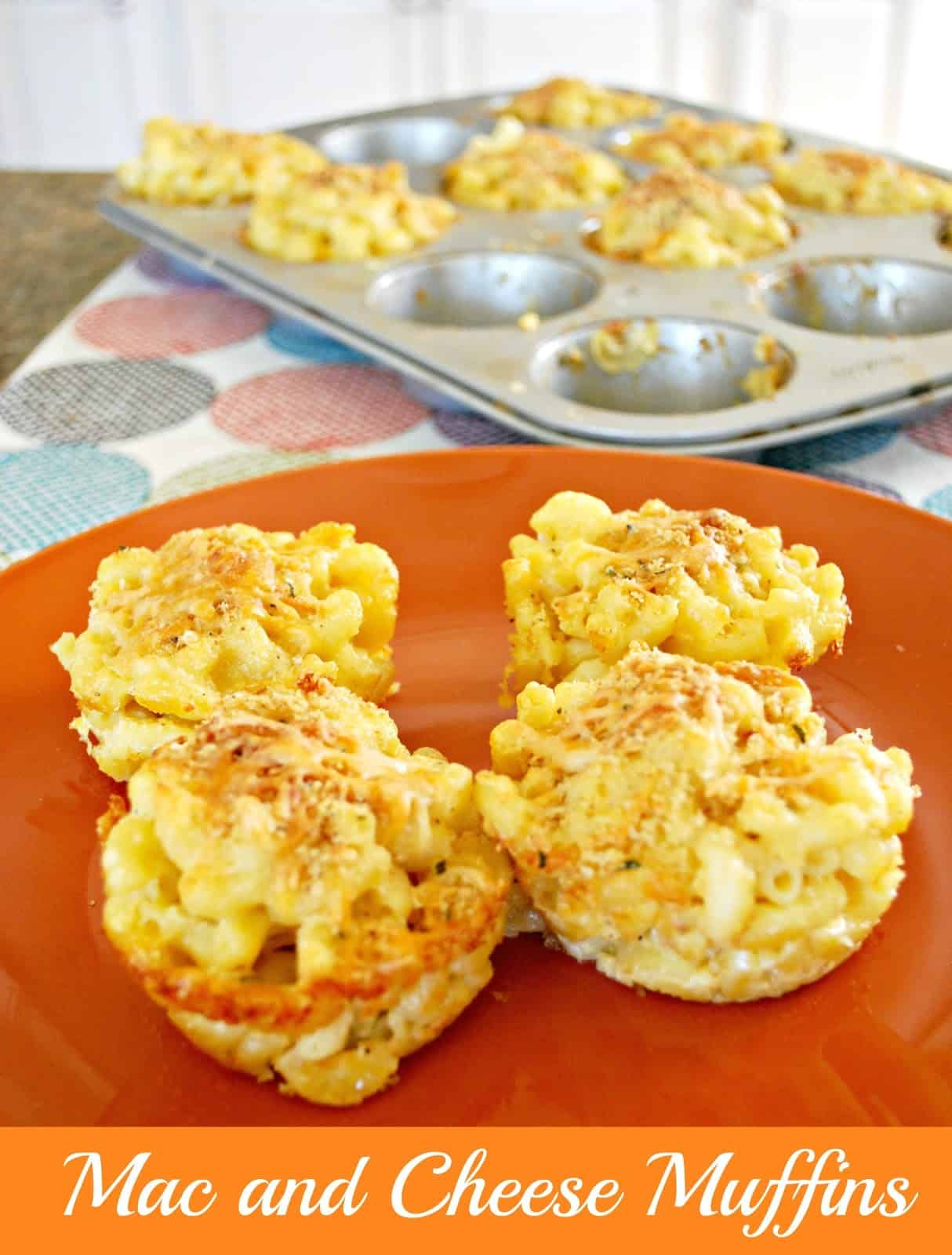 Mac And Cheese Muffins Food Fun Friday Mess For Less