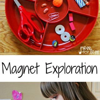 Preschool Science – Magnet Exploration