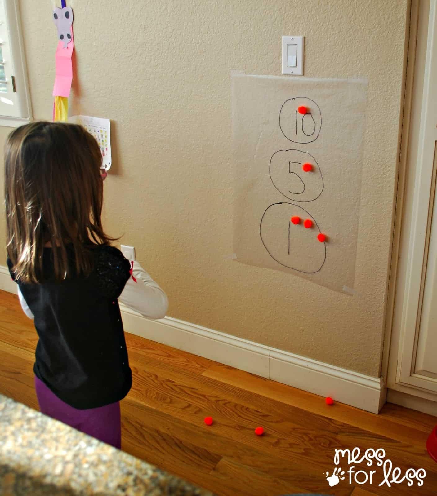 kids playing math game