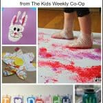 Playing with Paint Activities from The Kids Weekly Co-Op