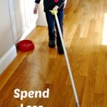 Spend Less Time Cleaning with Swiffer Sweep & Trap