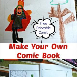 Make Your Own Comic Book – Free Printable Comic