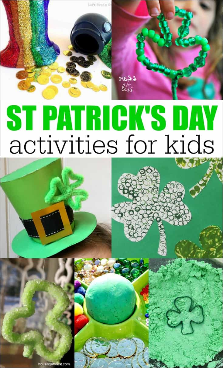 St. Patrick\'s Day Activities for Kids - Mess for Less