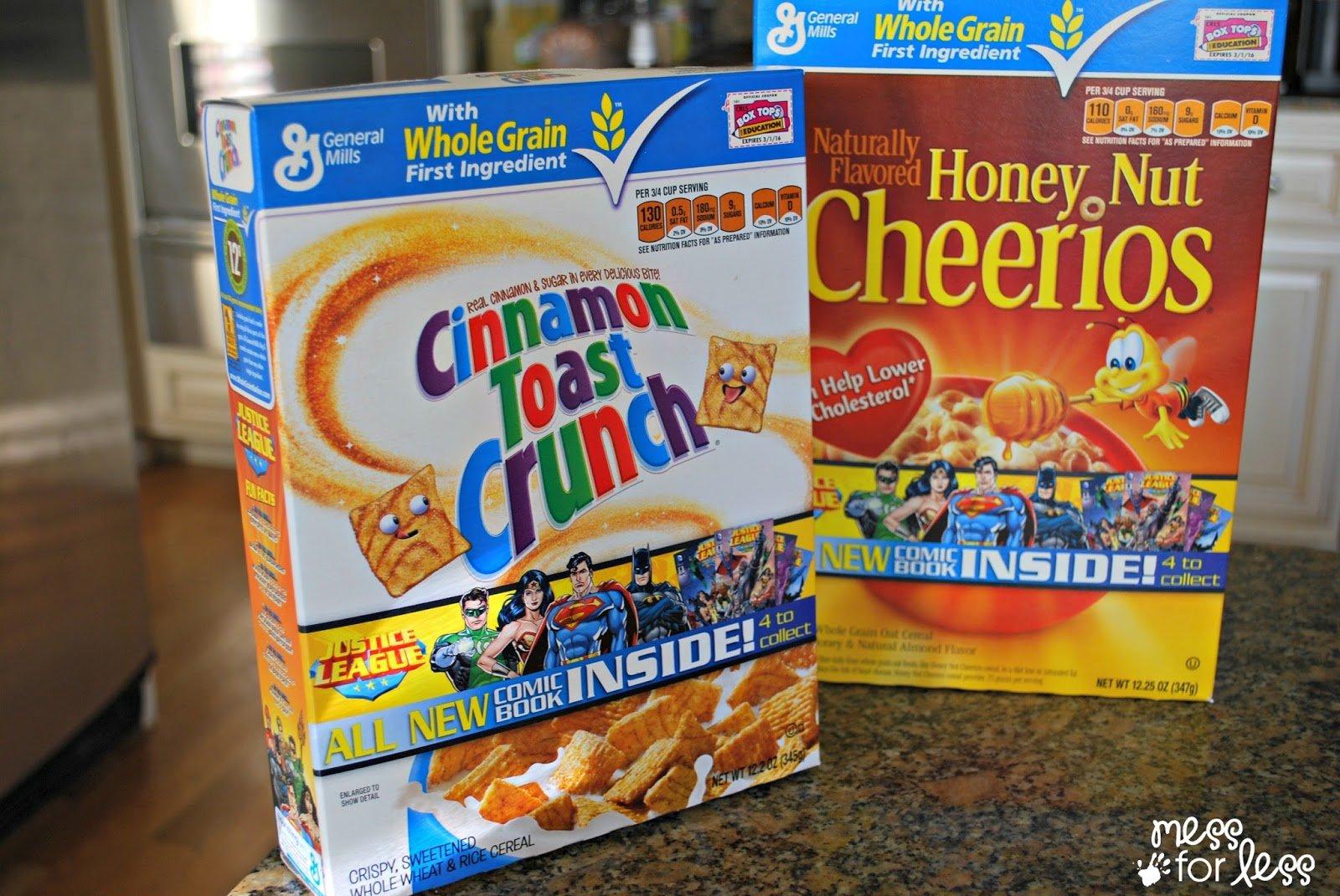 Big G cereals #sponsored #CerealHeroes