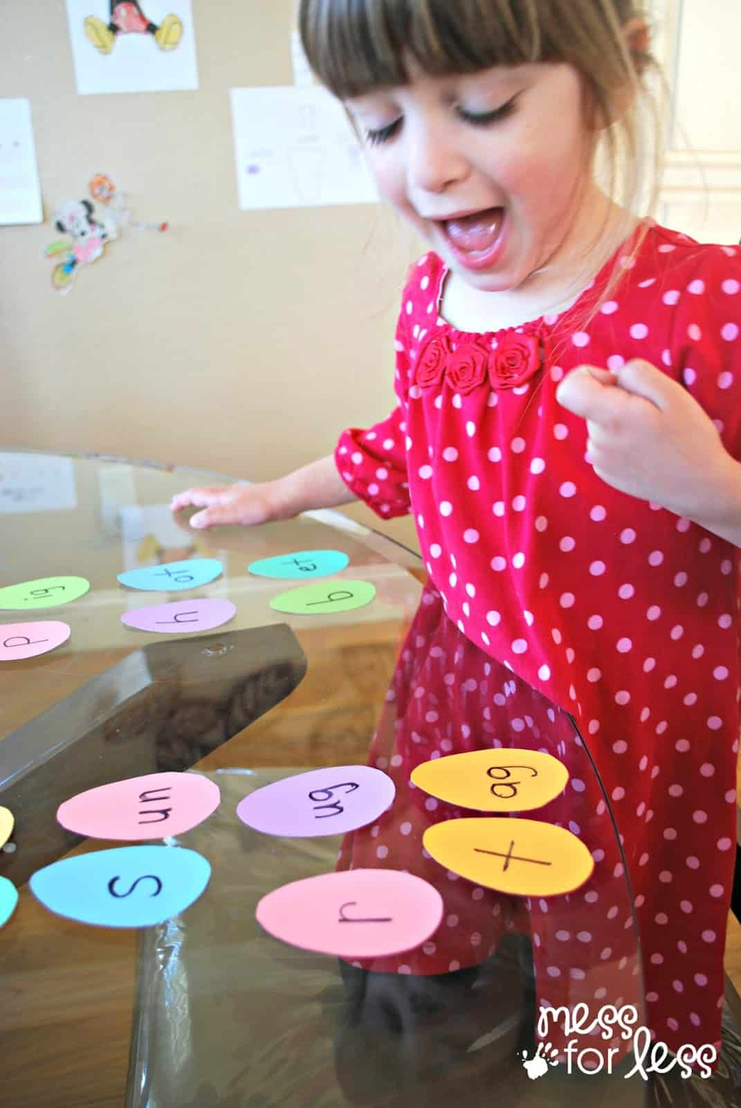Easter egg word game