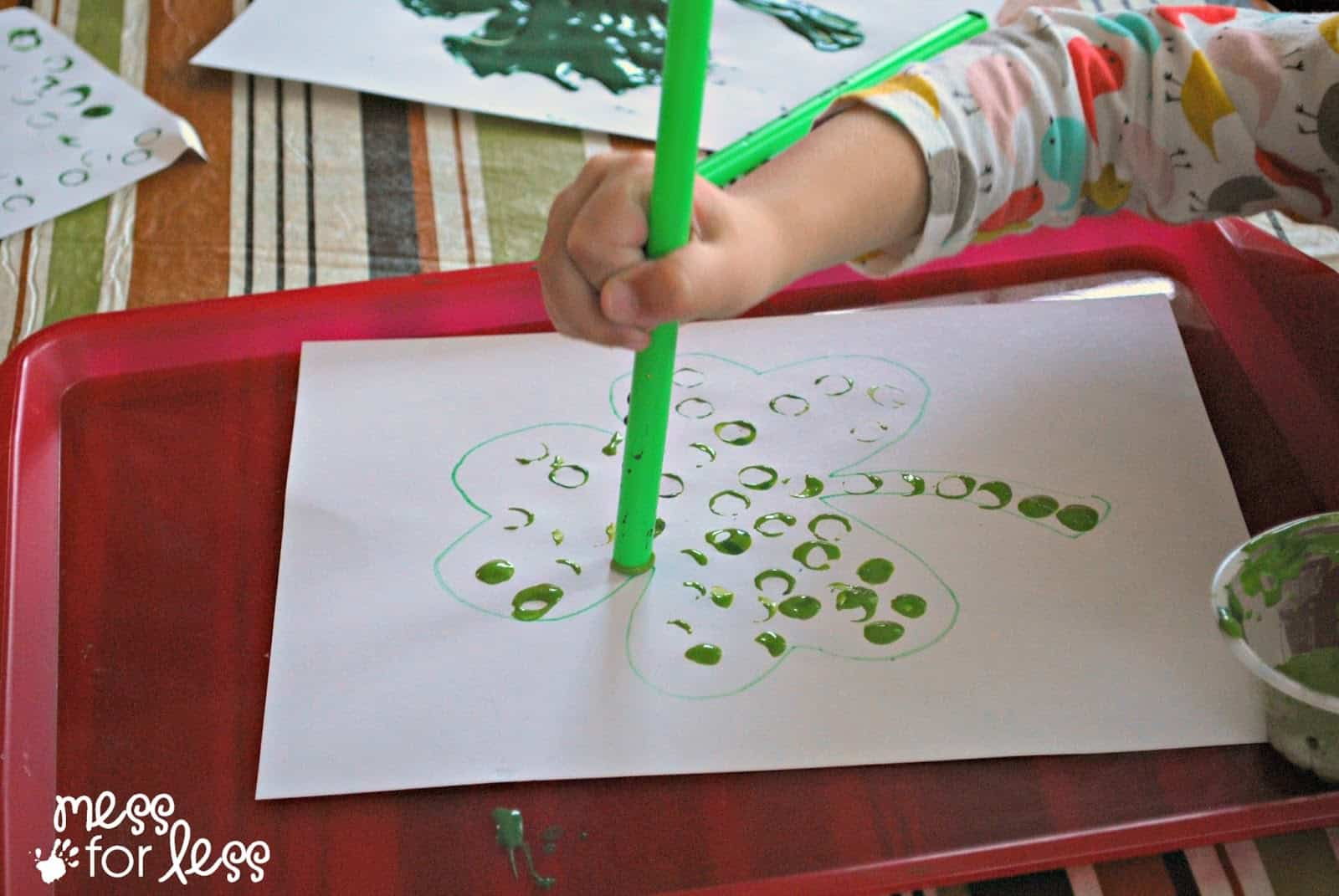 straw painting