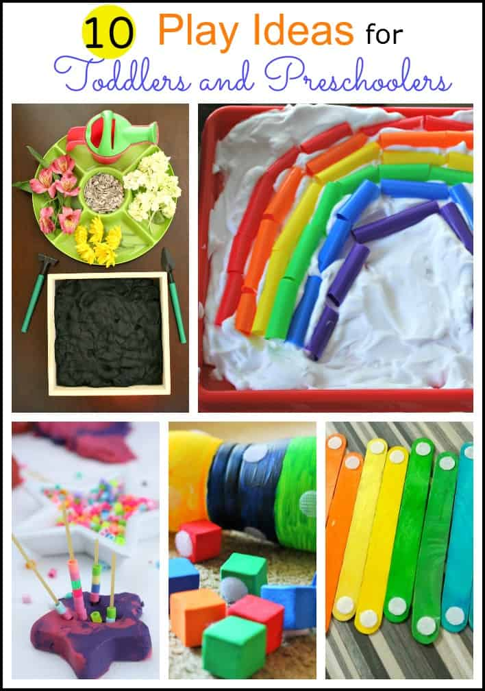 arts and craft ideas for preschoolers 10 play ideas for toddlers and preschoolers mess for less 7429
