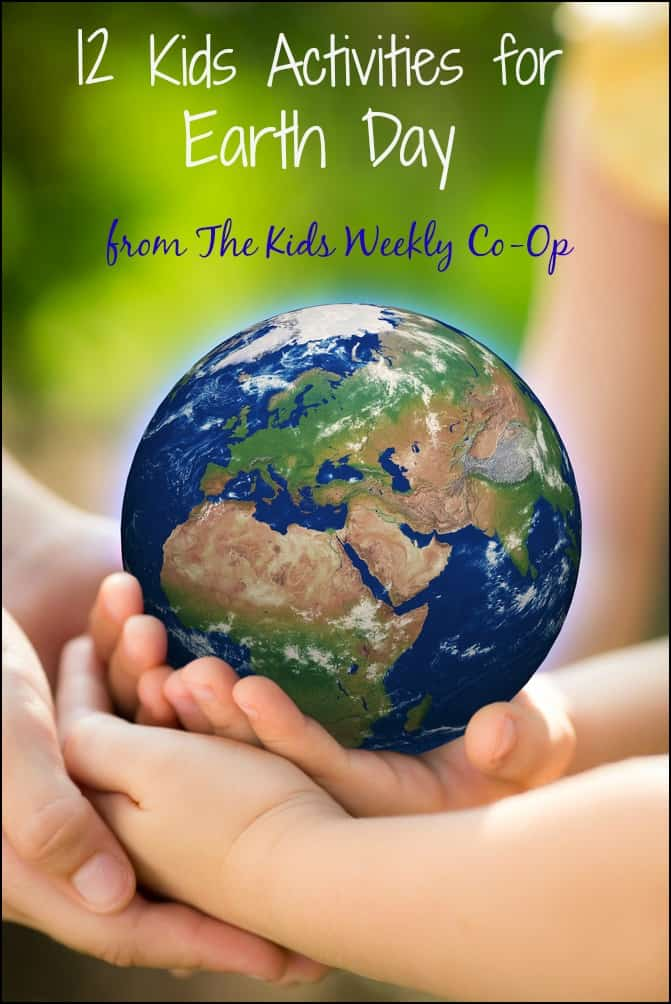 12 Earth Day Activities for Kids - Get the kids involved in reducing, reusing and recycling in fun, hands-on ways!