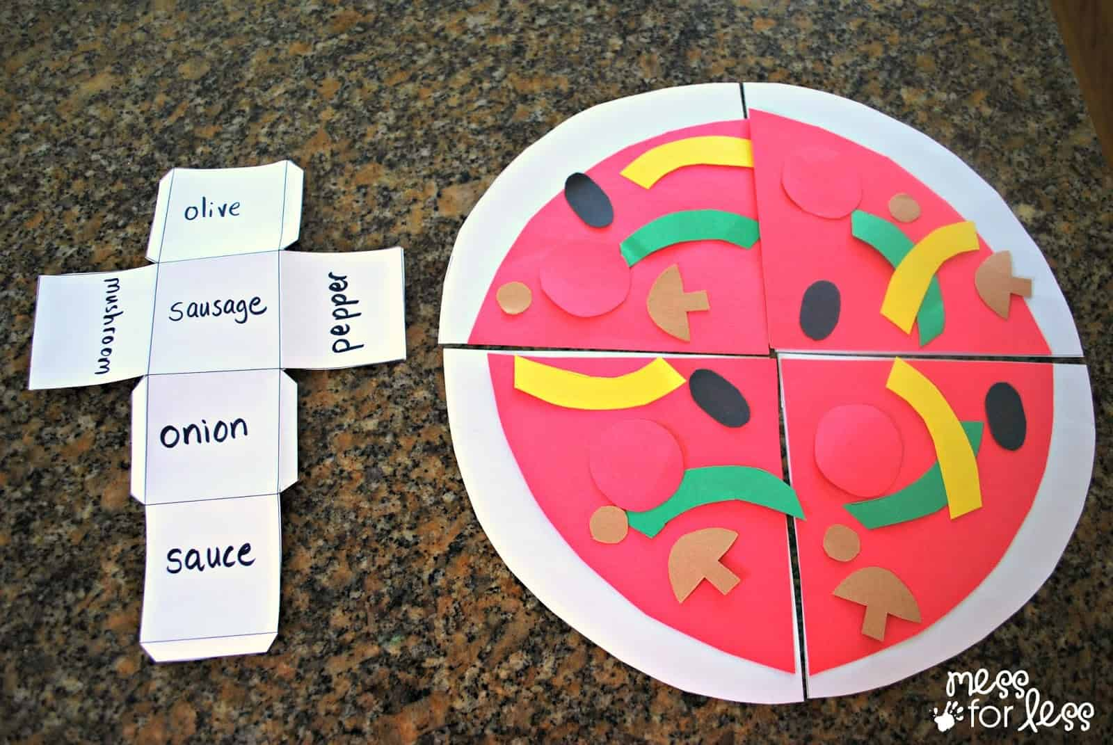 Roll a Pizza Game #tonyspizzeria #PMedia #ad