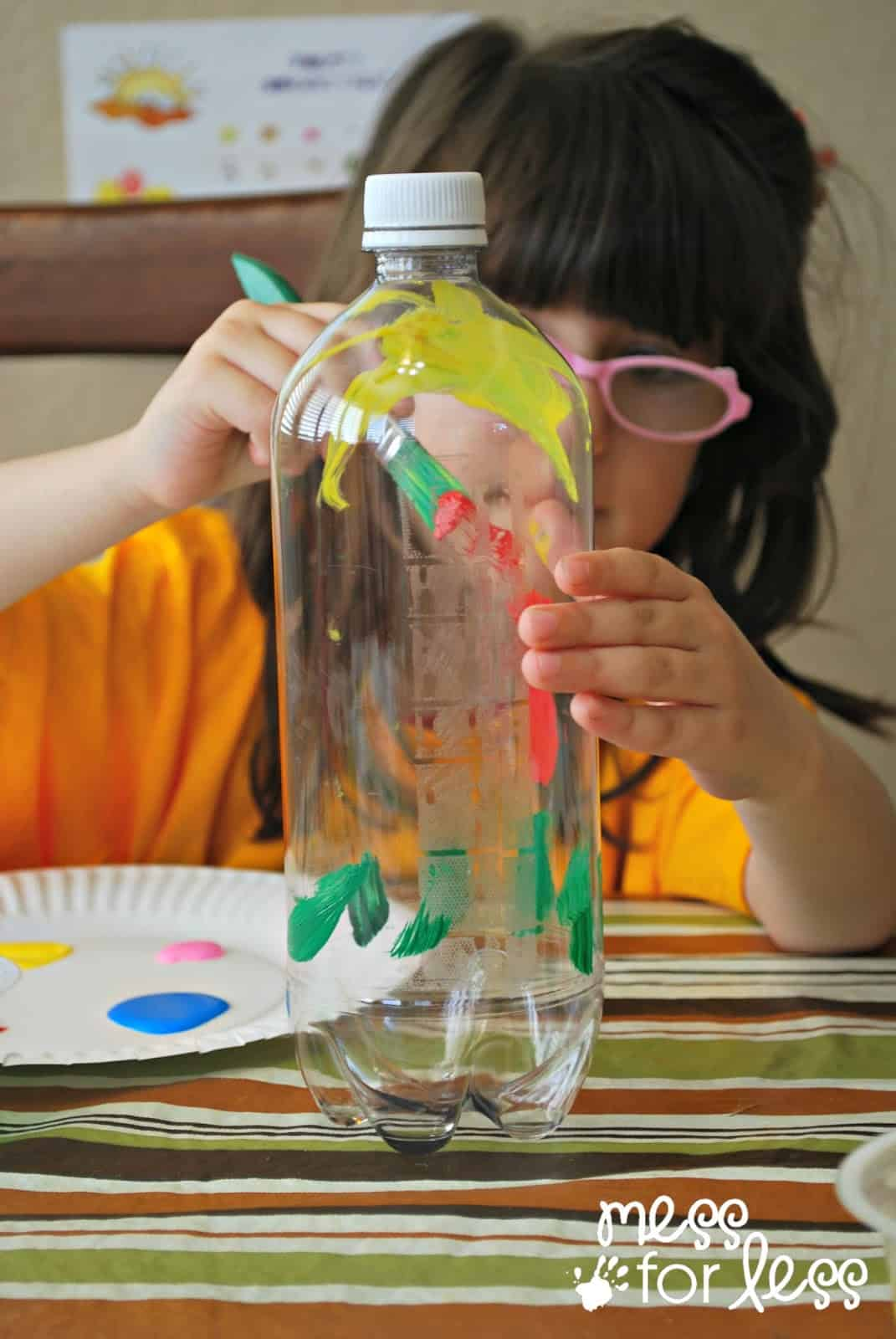 Soda Bottle Watering Can - Mess for Less