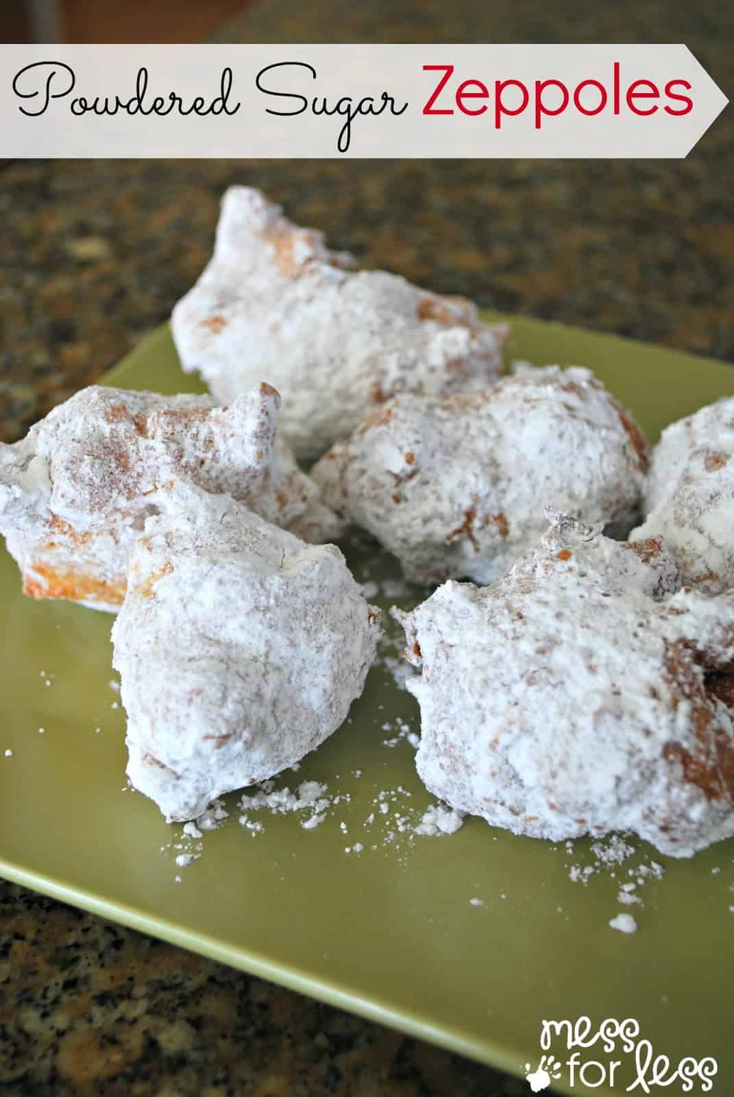 Powdered Sugar Zeppoles - Just like you get at a New York Street Festival #sponsored #KeepGoodGoing