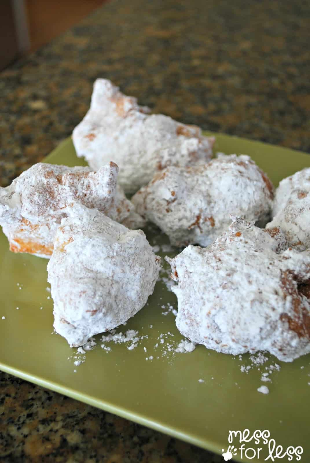 Powdered Sugar Zeppoles