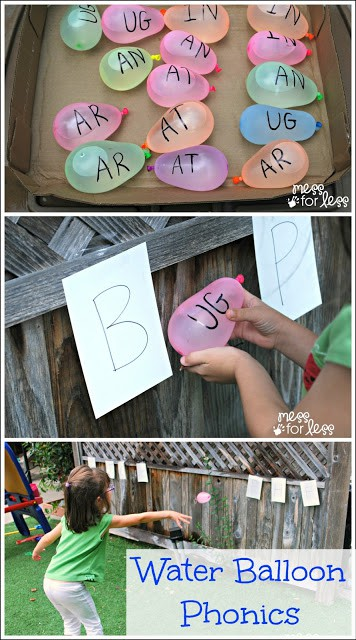 Water Balloon Phonics