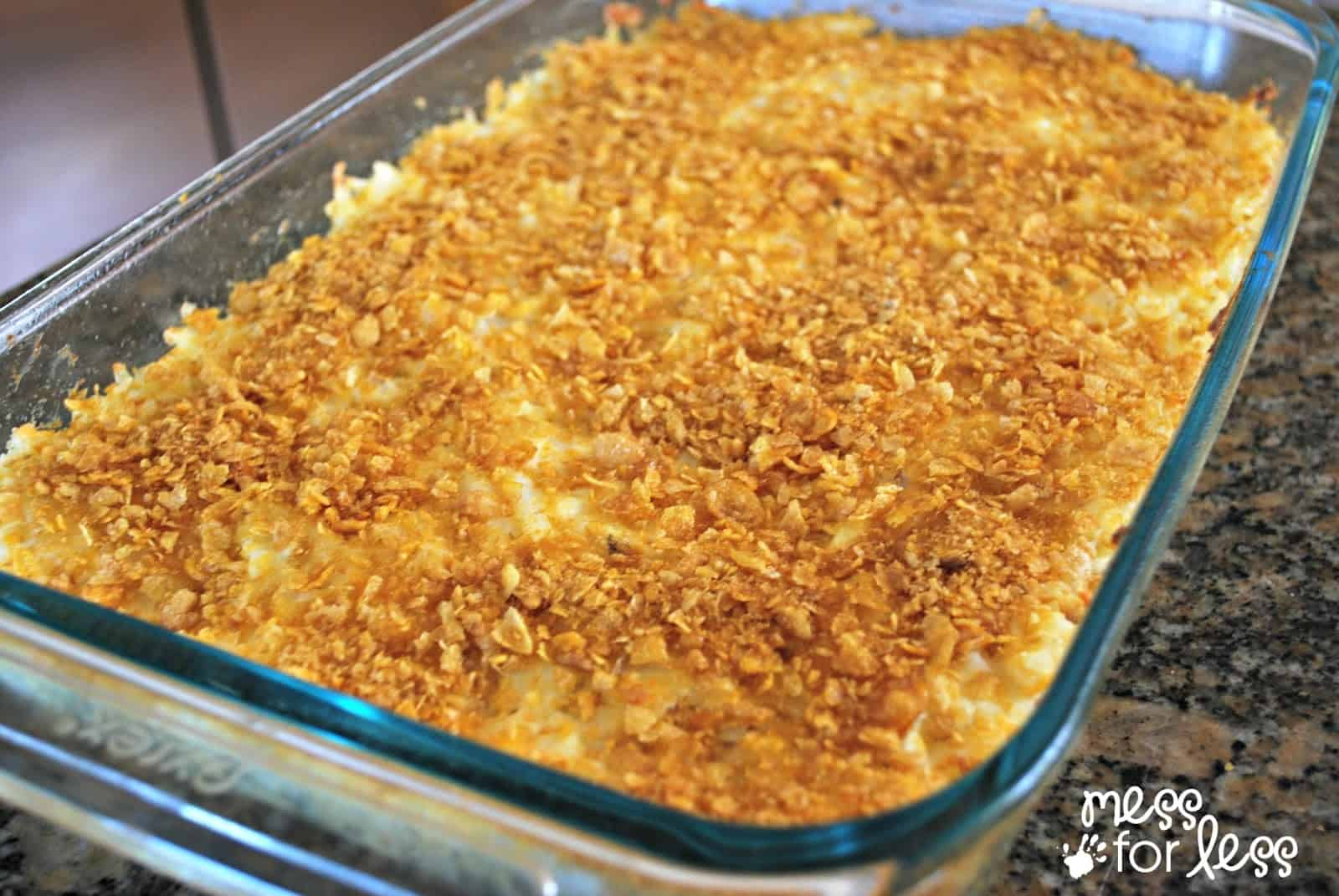 Recipe chicken sour cream corn flakes