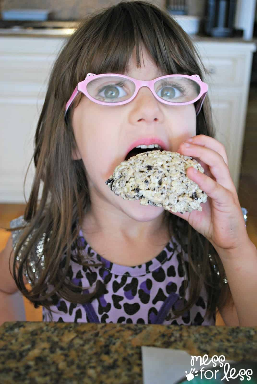kids rice krispie treats