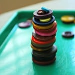 Button Stacking Game