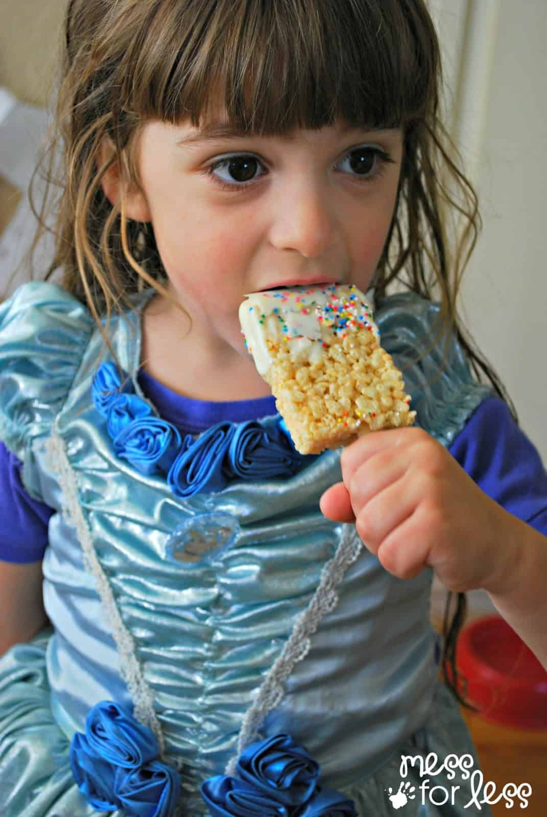 Kids love Rice Krispies Treats #ad #easytomake