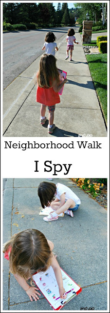 I spy neighborhood walk