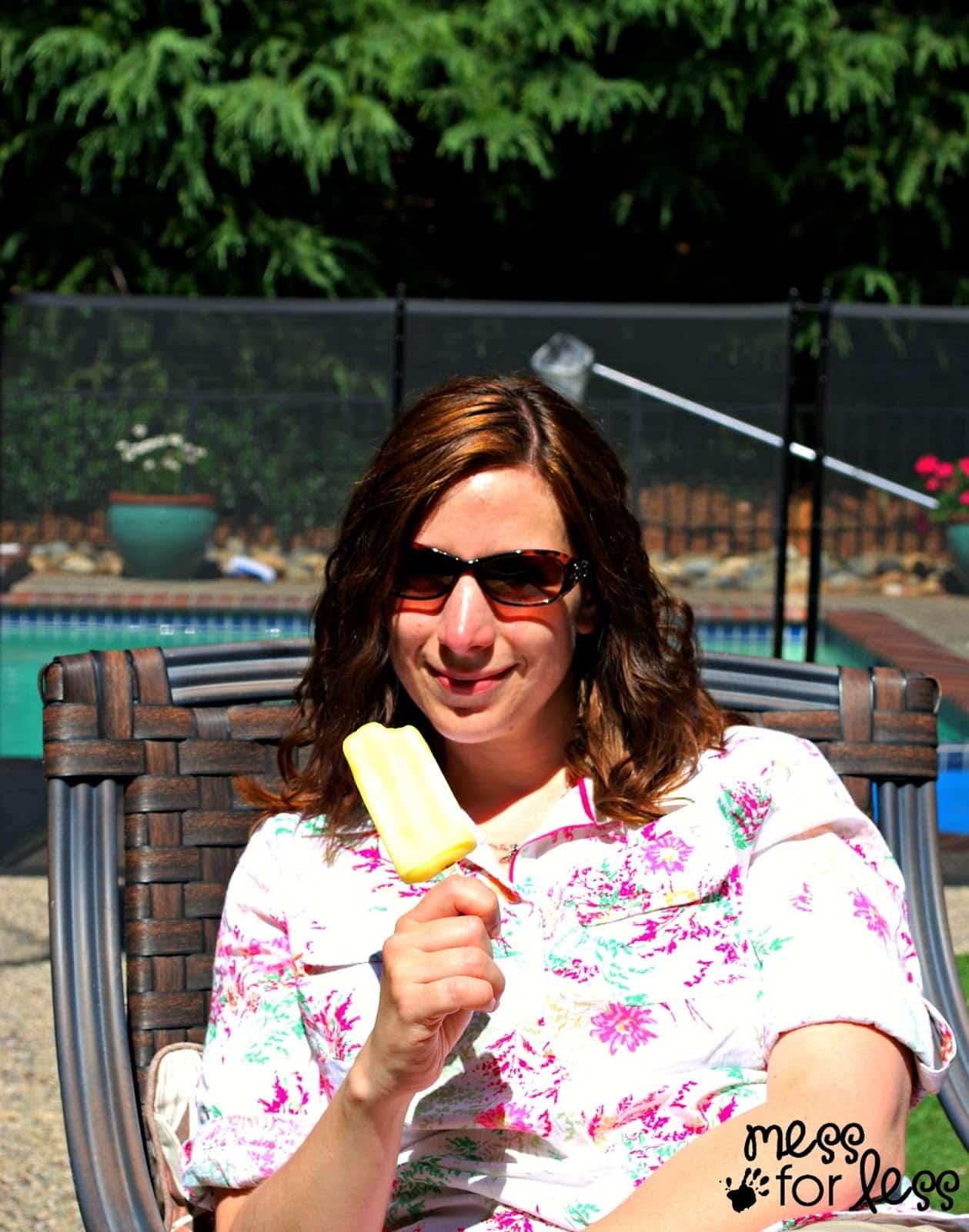 Pineapple flavored Edy's Outshine Bars. #shop #SummerGoodies #cbias