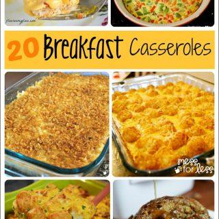 20 Breakfast Casserole Recipes – Food Fun Friday