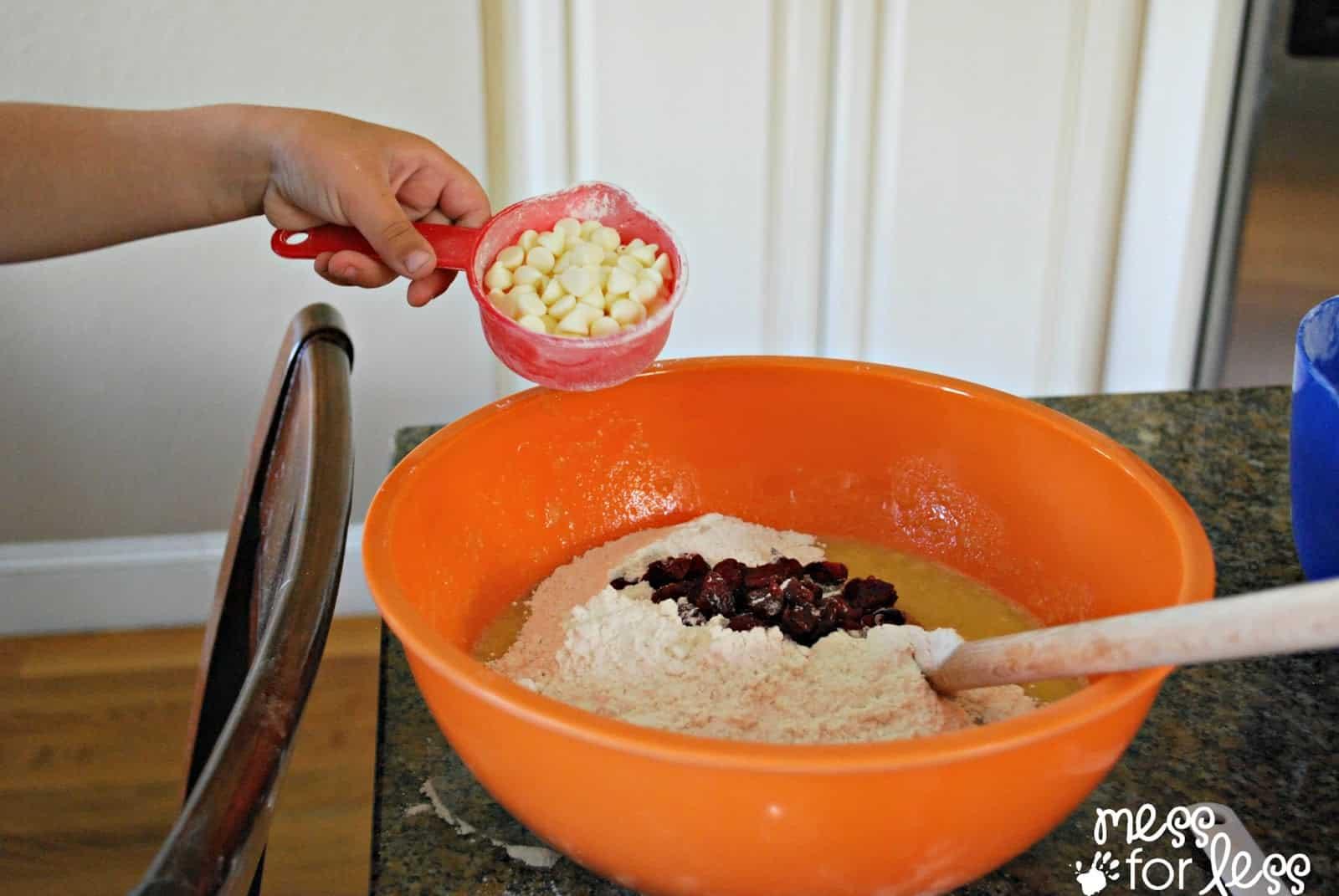 recipe for cranberry banana bread