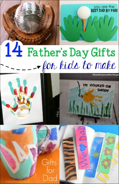 Do you have a gift for Dad yet? My kids love making special gifts for dad and these Kid Made Father's Day Gifts are sure to be a hit.
