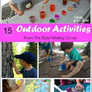 15 Outdoor Activities – The Kids Weekly Co-Op