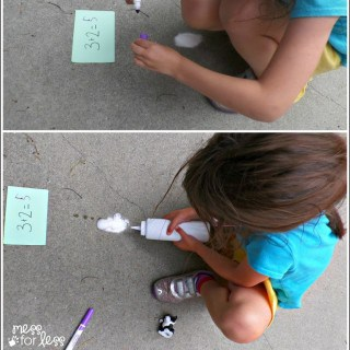 Kindergarten Math Game – Bubbling Addition