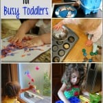 12 Activities for Busy Toddlers from The Kids Weekly Co-Op