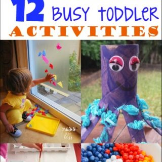 12 Busy Toddler Activities