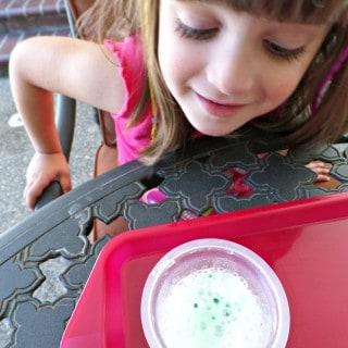 Paint Recipe – Surprise Color Sidewalk Paint