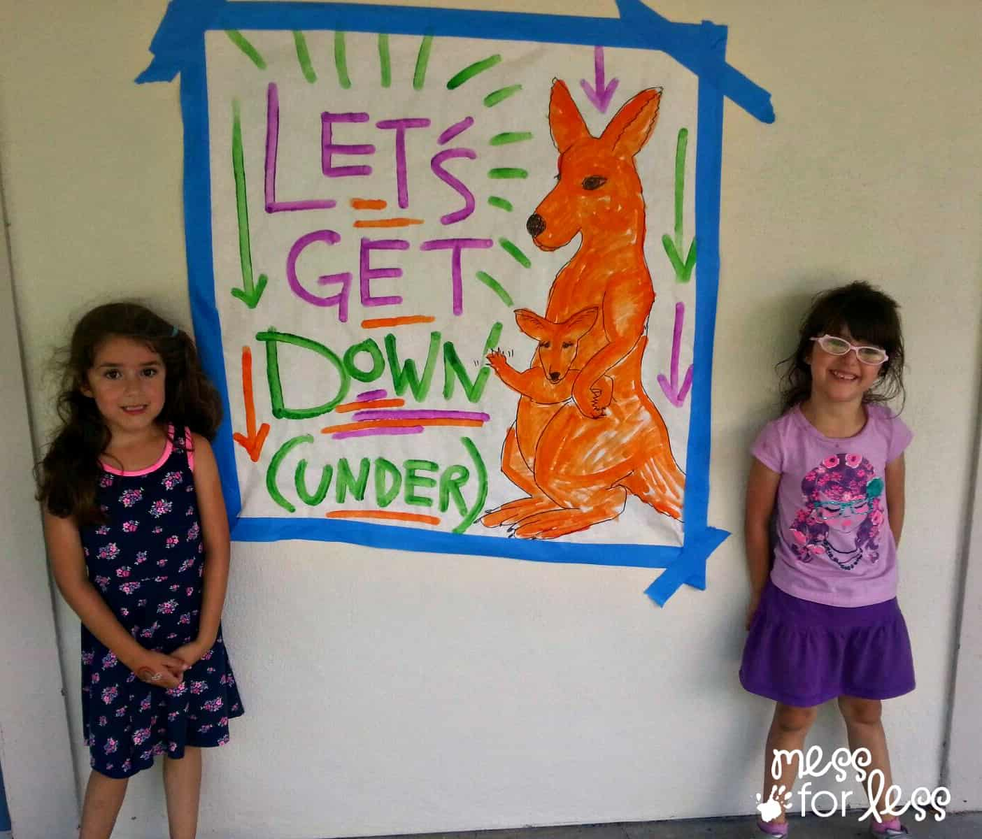fun down under at Galileo camps #sponsored