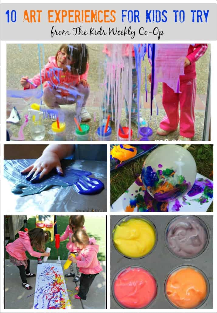 These art experiences for kids to try are the perfect way for little artists to explored. My kids loved all the ones we tried.