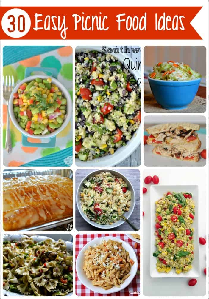 30 Easy Picnic Food Ideas - Mess for Less