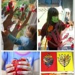 15 Fall Crafts for Kids plus Fall Treats Kids Will Love
