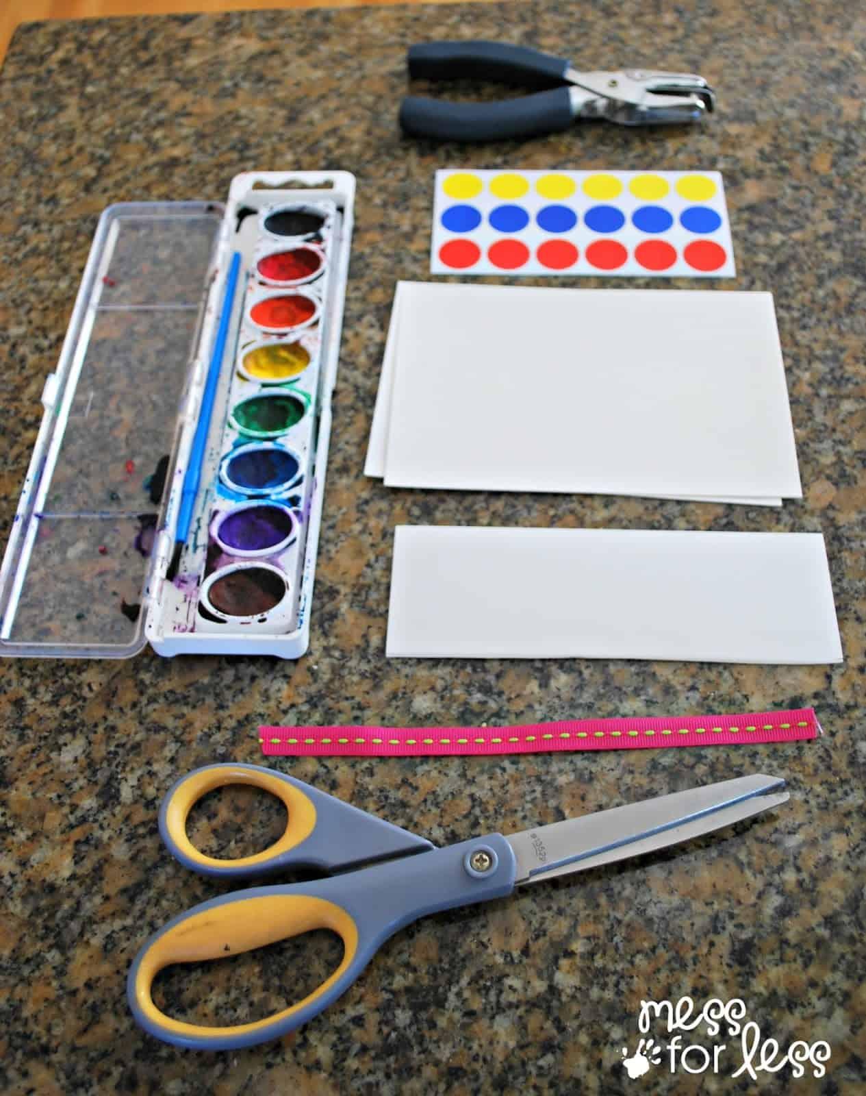 bookmark making supplies