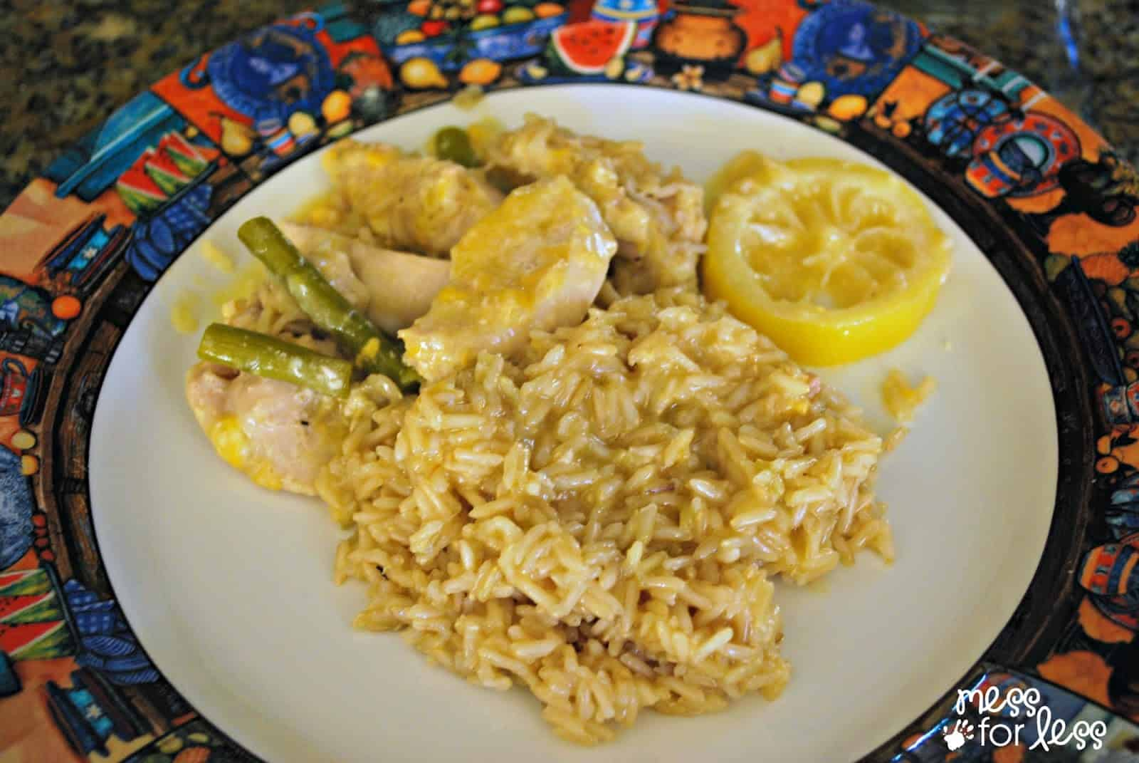 One Pan Chicken and Rice Meal #sponsored #ReynoldsKitchens #CleverGirls