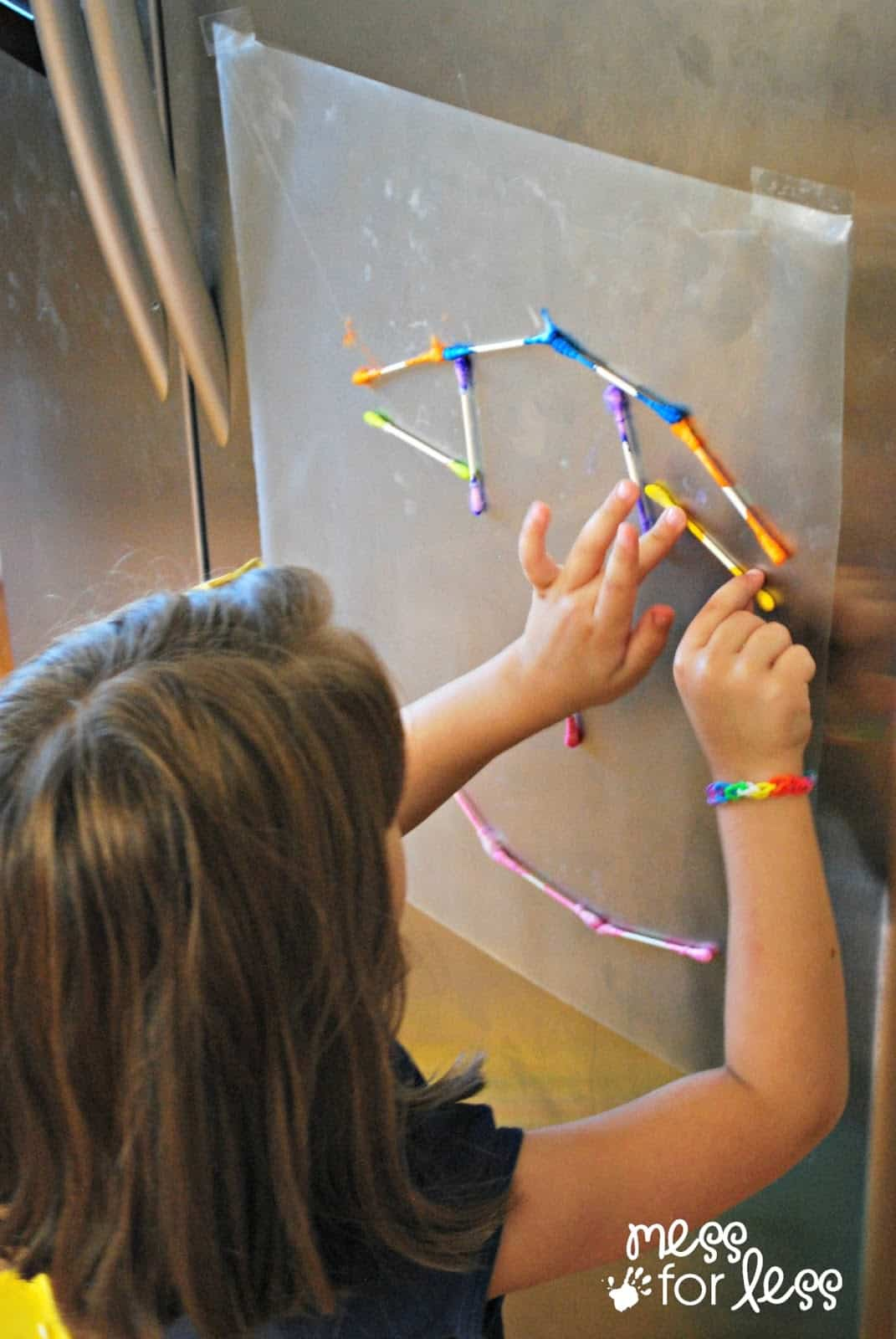 q-tip activity for kids