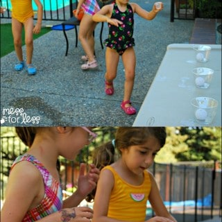 Fun Kids Game – Cup and Water Race