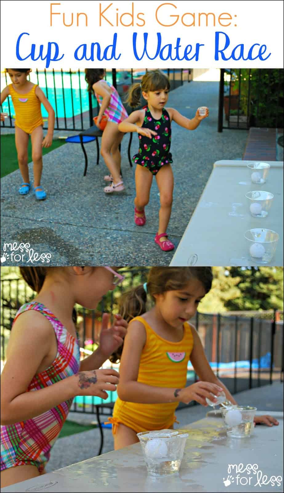 Fun Kids Game - Cup and Water Race. A great game for coordination and balance!