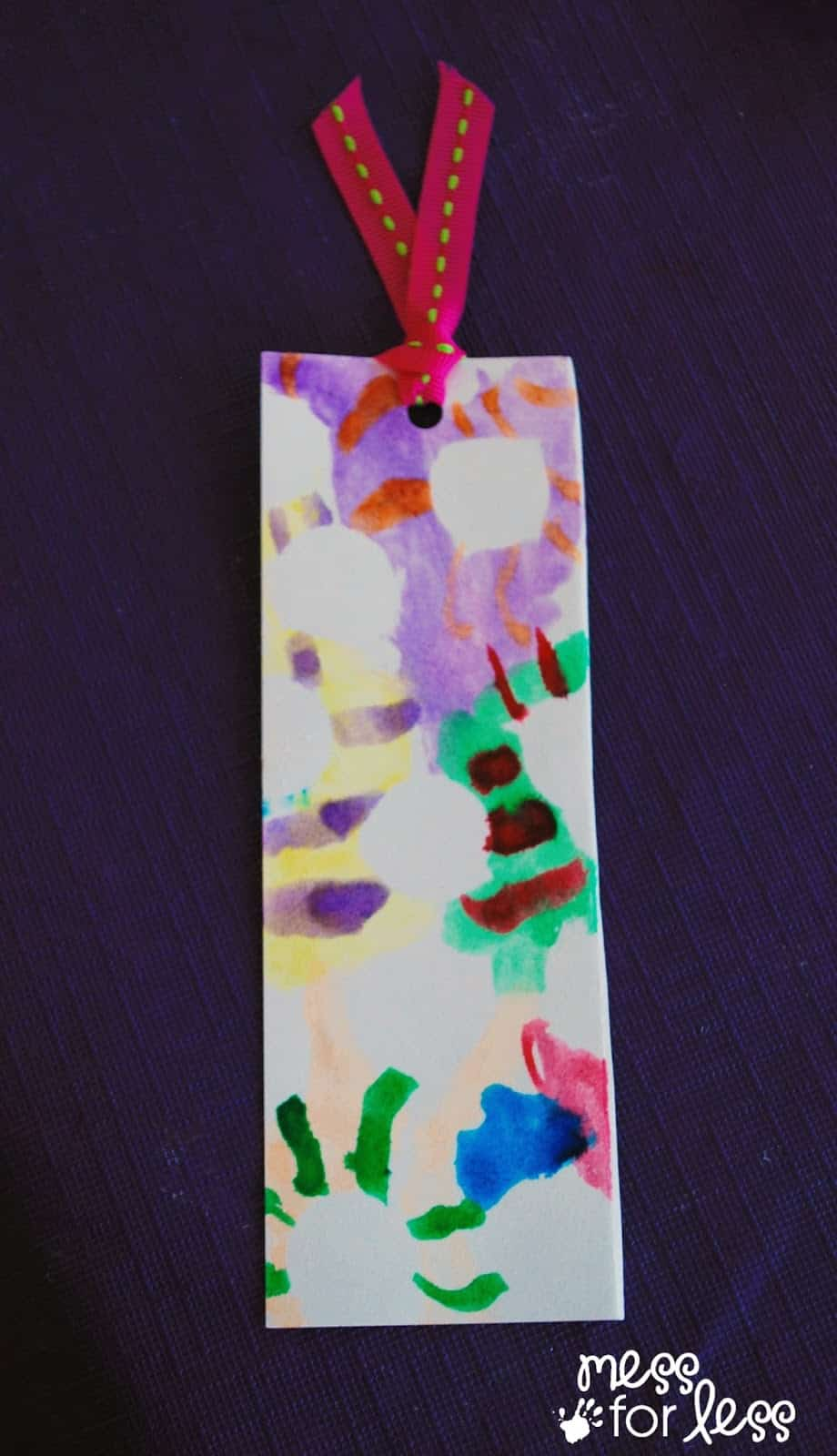 easy to make bookmark