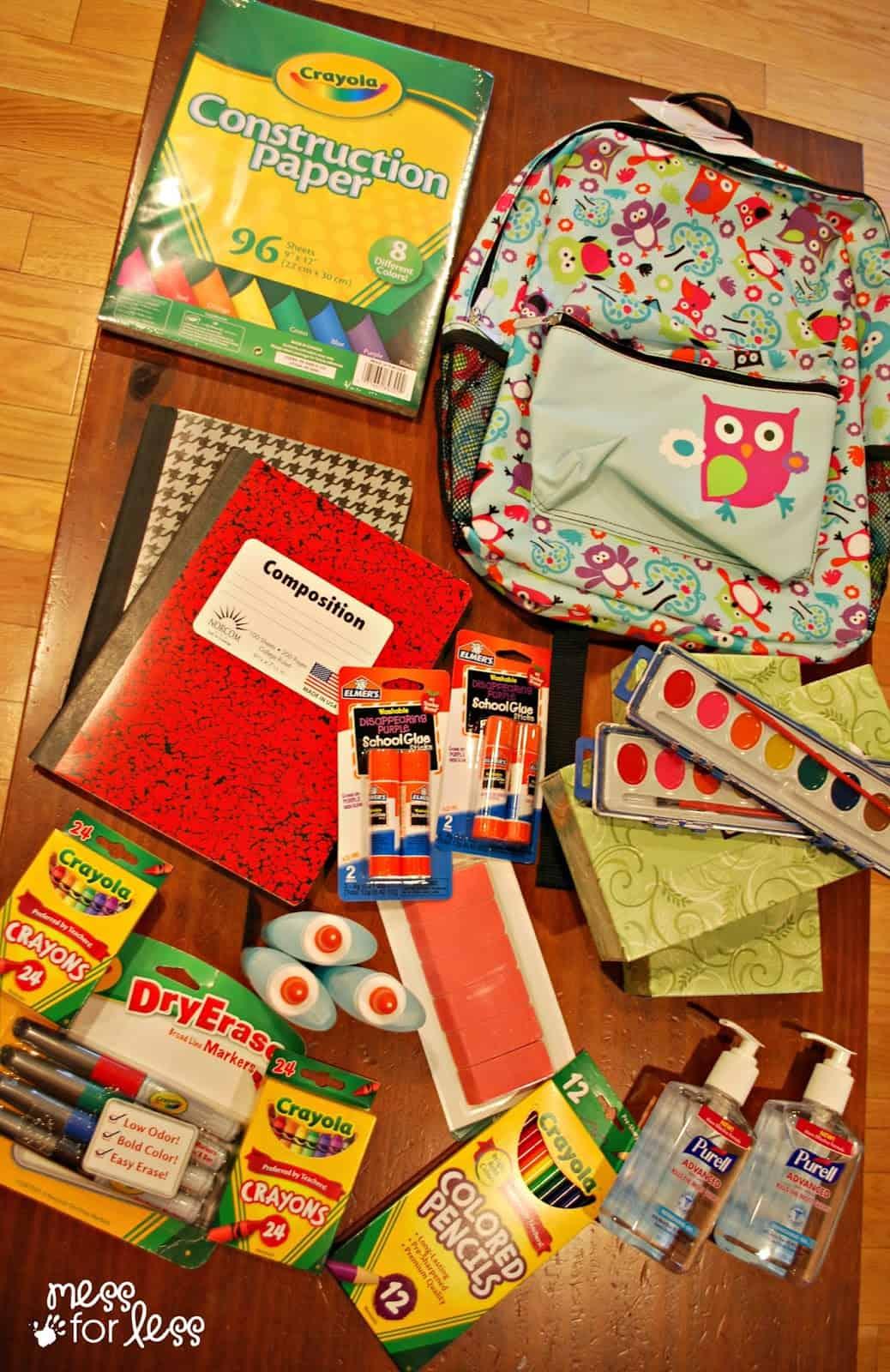 School supplies #sponsored #PURELLLendAHand