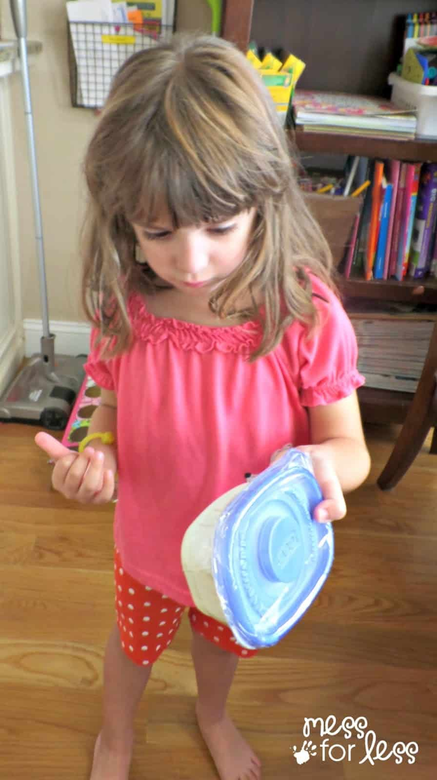 butter making with kids