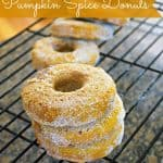 Pumpkin Donut Recipe – Food Fun Friday